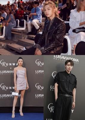 SECOO with Chinese celebrities in Celebration of the 90th Anniversary of LUISAVIAROMA