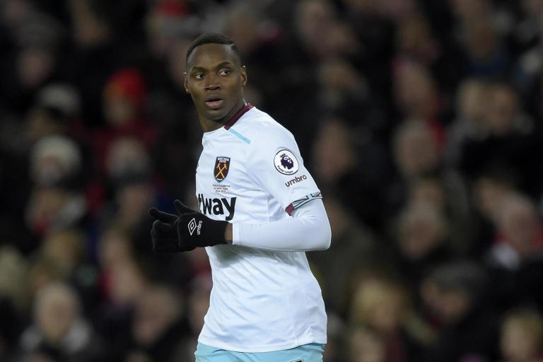 West Ham striker Diafra Sakho unlikely to play again this season