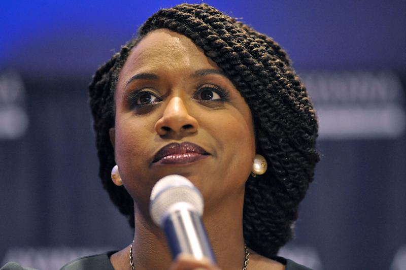 Rep. Ayanna Pressley Declines to Weigh in on Kennedy vs. Markey Primary Battle. 'The Electorate Will Decide'