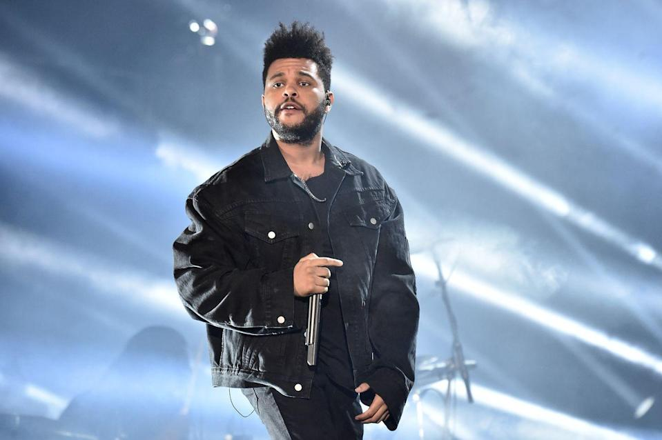 <p>The Weeknd, a.k.a. Abel Tesfaye, has had three No.1 singles and eight top-ten entries on the Billboard 100. He's also won three Grammy Awards and has sold more than 70 million records in the U.S. before turning 30. </p>
