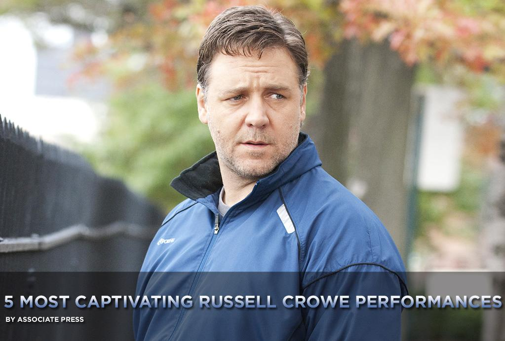 """<a href=""""http://movies.yahoo.com/movie/contributor/1800019188"""">Russell Crowe</a> digs deep and transforms himself for every role he takes on, making decent movies better and great movies excellent. He's so consistently good, even some off-camera antics from time to time don't become a distraction; he never fails to convince us.   With the opening this week of <a href=""""http://movies.yahoo.com/movie/1810117984/info"""">The Next Three Days</a>, here's a look at Crowe's <a href=""""http://movies.yahoo.com/news/movies.ap.org/5-most-captivating-russell-crowe-performances-ap"""">five most captivating performances</a>:"""
