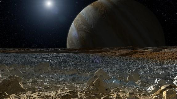 Scientists won't need to dig far to find signs of life on Jupiter's moon Europa