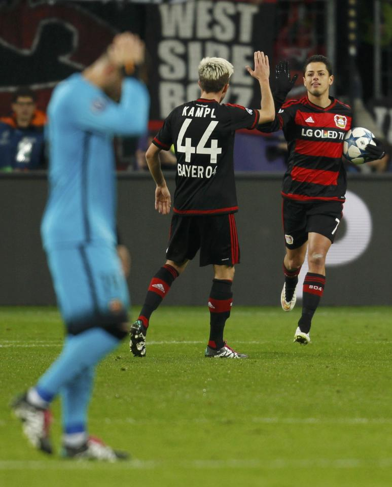leverkusen champions league