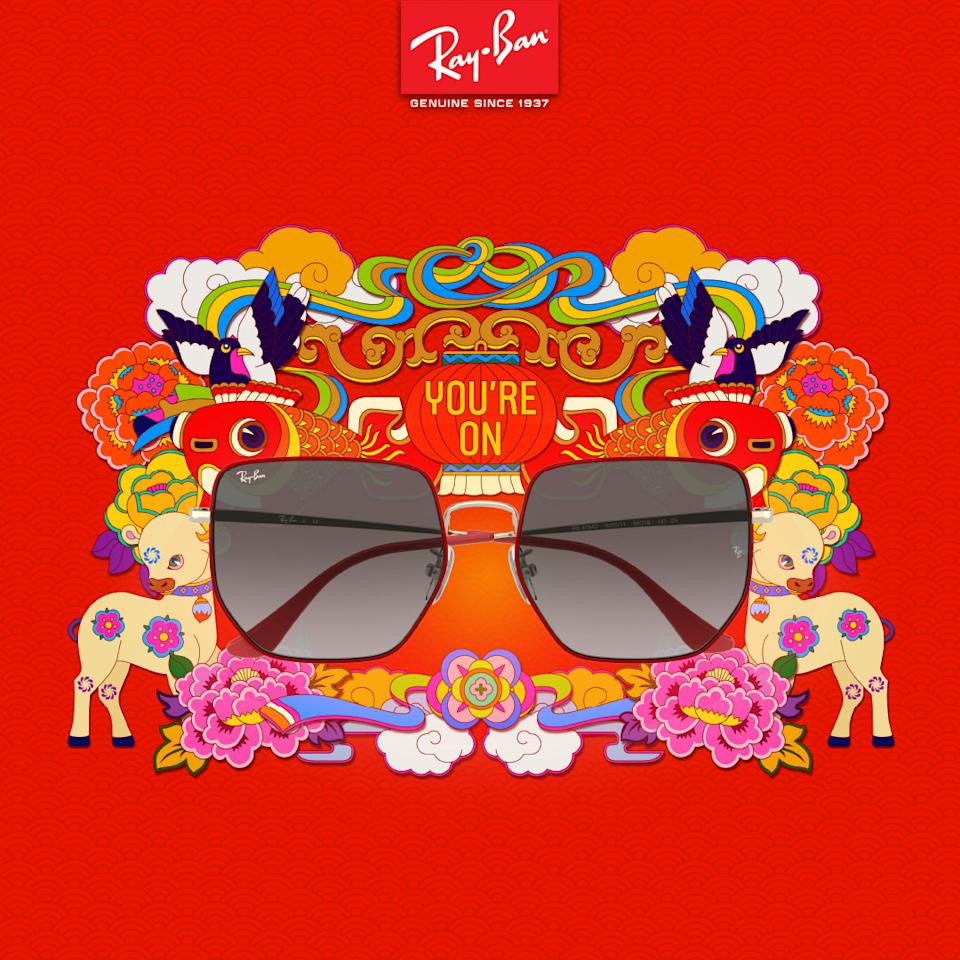 Ray Ban CNY collection. (PHOTO: Ray Ban)