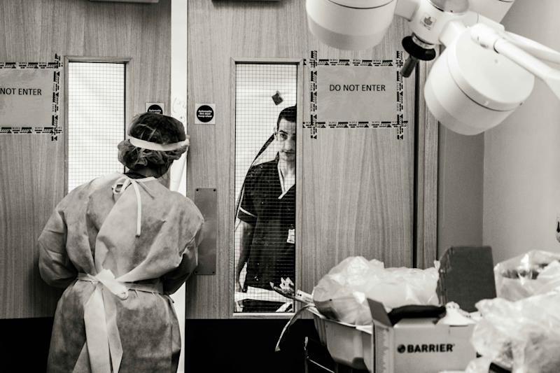 Photos taken by Dr Matthew Jones of the James Cook University Hospital in Middlesbrough (Picture: PA)
