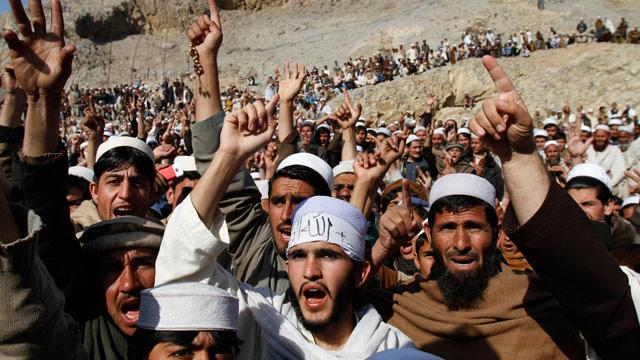 Koran Burning Protests Spread to Pakistan