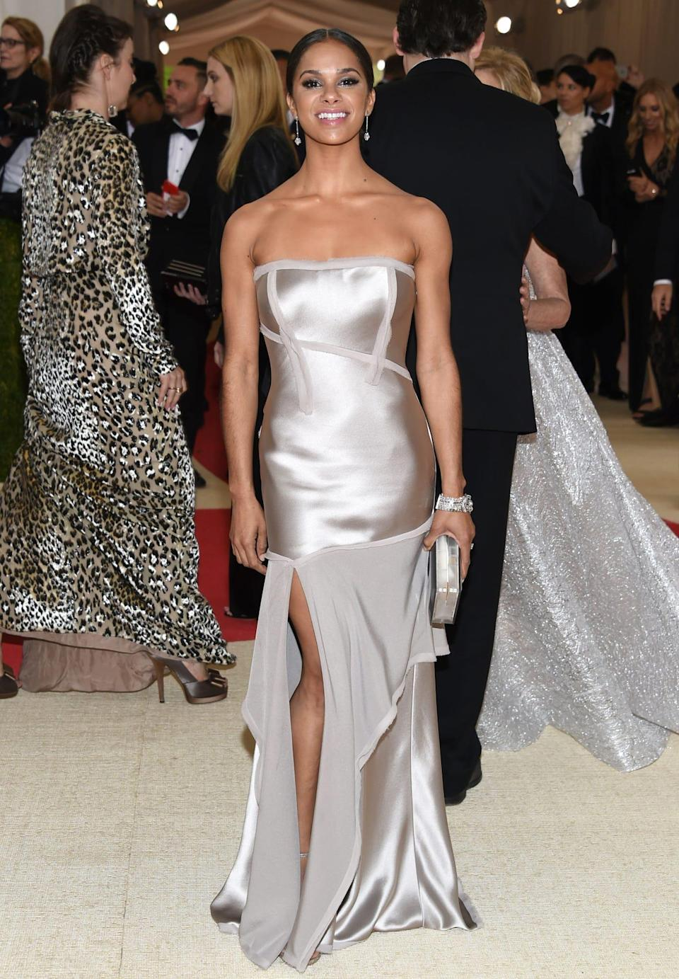 Misty Copeland at the 2016 Met Gala.