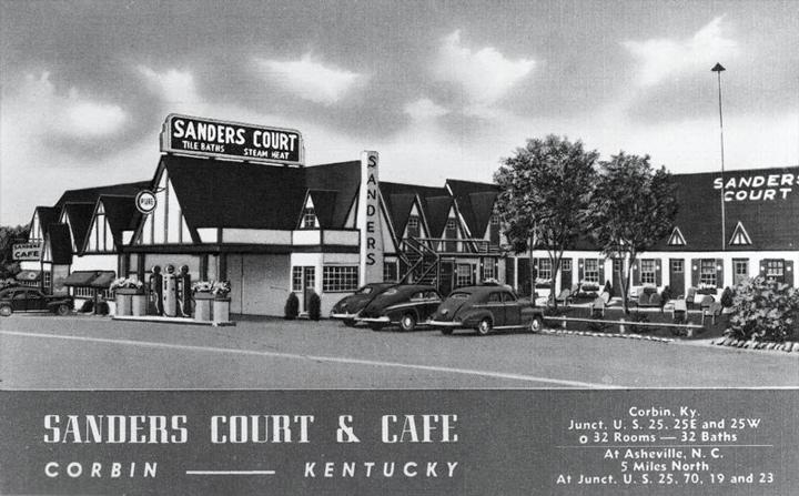 KFC first location