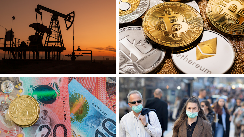 ASX, Wall Street, Oil, Cryptocurrency, AUD, economic and finance news. Here's everything you need to know for today. Source: Getty/Yahoo Finance