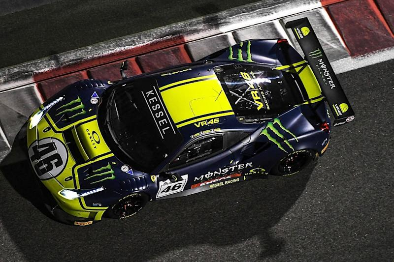 MotoGP legend Rossi takes Gulf 12 Hours class win