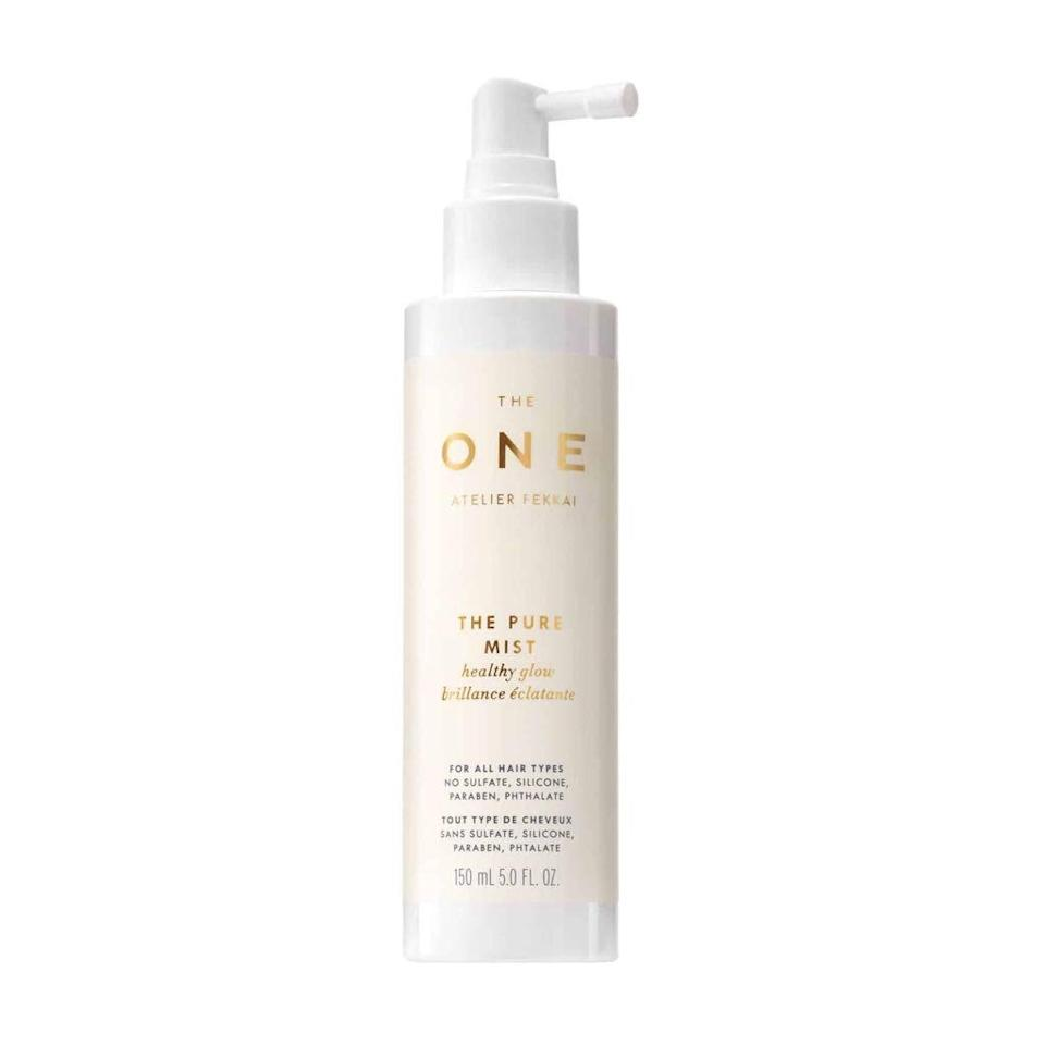 """<p>The Pure Mist, part of Frederic Fekkai's first <a href=""""https://www.allure.com/story/frederic-fekkai-the-one-pure-hair-care-collection?mbid=synd_yahoo_rss"""" rel=""""nofollow noopener"""" target=""""_blank"""" data-ylk=""""slk:95 percent natural collection of hair-care products"""" class=""""link rapid-noclick-resp"""">95 percent natural collection of hair-care products</a>, is proof of just how useful botanical oils and extracts can be in defending hair from UV damage. This formula relies on coconut and jojoba oils as well as aloe and shea butter to not only keep hair safer in the sun but also to protect it from heat-damaging tools.</p> <p><strong>$26</strong> (<a href=""""https://shop-links.co/1709935576253716195"""" rel=""""nofollow noopener"""" target=""""_blank"""" data-ylk=""""slk:Shop Now"""" class=""""link rapid-noclick-resp"""">Shop Now</a>)</p>"""