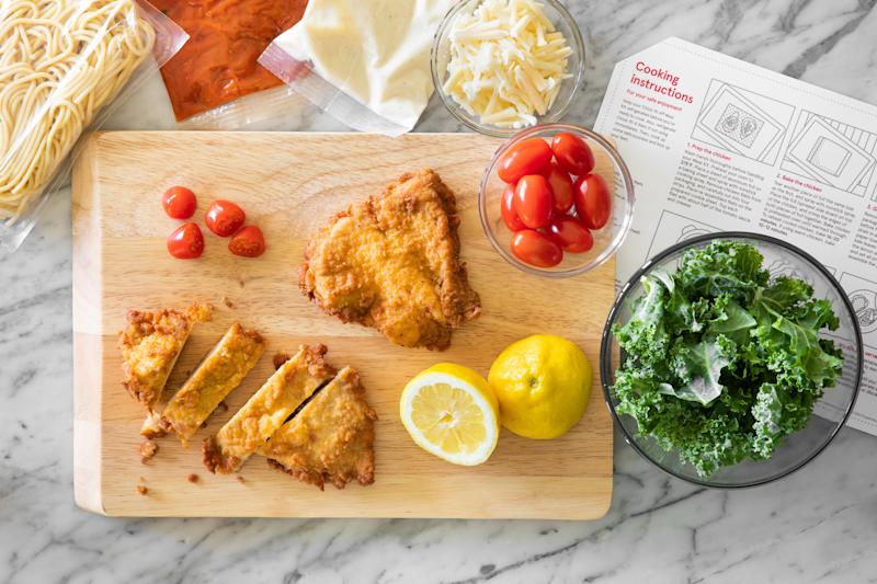Chick-fil-A Chicken Parmesan meal kit (Courtesy of Chick-fil-A)