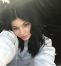 <p>Kylie Jenner ditched her usual heavy lashes and lipkits and embraced her freckles in this makeup-free selfie. [Photo: Instagram/kyliejenner] </p>