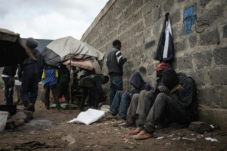 Kenya was once a hub for heroin trafficking to Europe before becoming a market itself -- the drug is a cheap and highly addictive hit for poor people