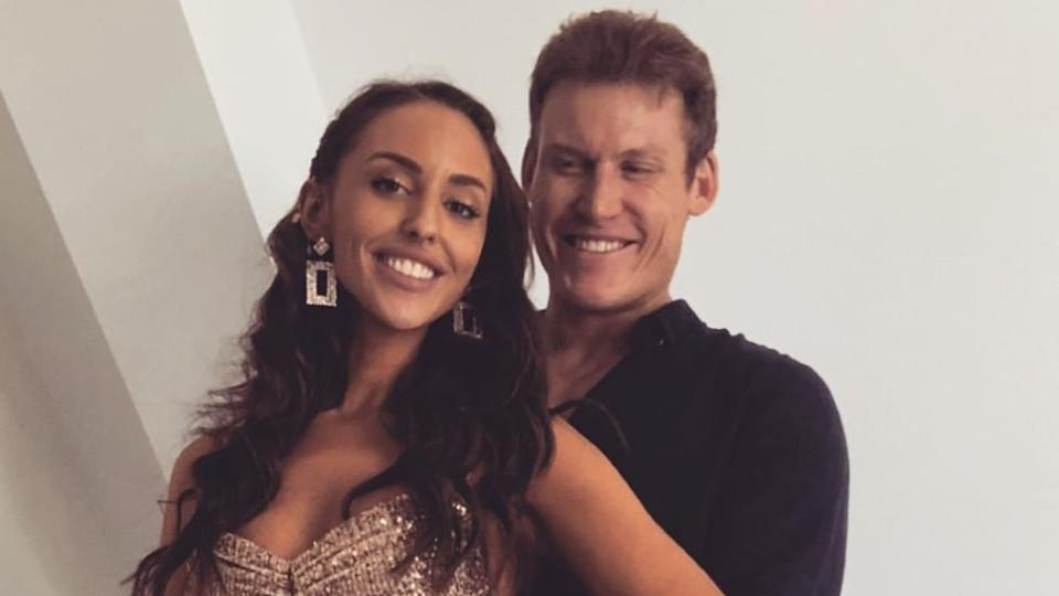 MAFS' Seb has addressed the rumours he and Lizzie have broken up. Photo: Instagram/Elizabeth Sobinoff