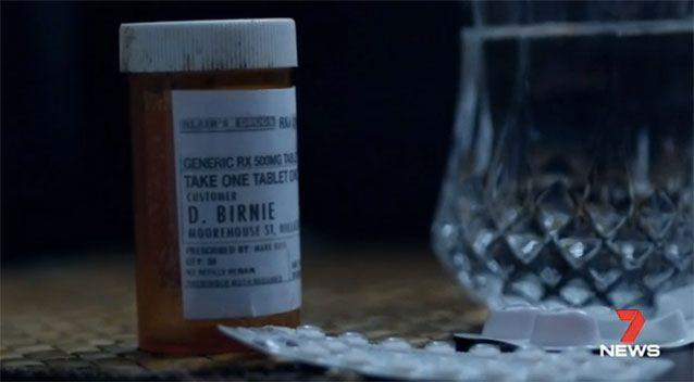 The prescription drug bottle Kate was able get David Birnie's name from.