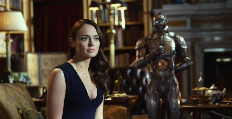 Viviane (Laura Haddock) and Cogman in