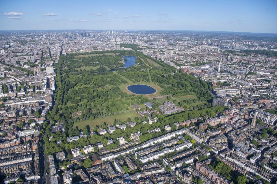 Hyde Park. (Photo: Jason Hawkes/Caters News)