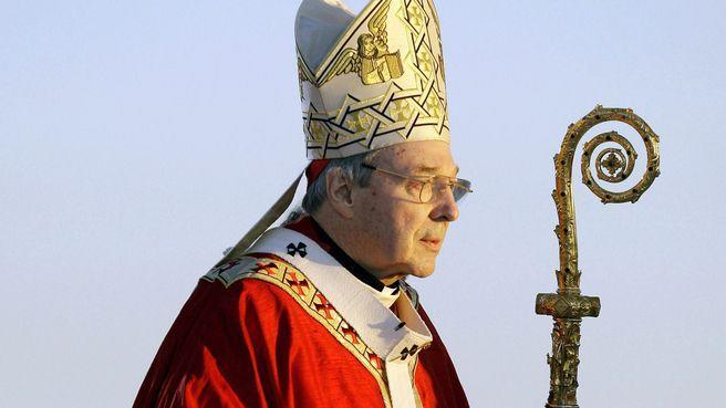 Cardinal Pell has denied all claims of sexual abuse. Photo: Yahoo7