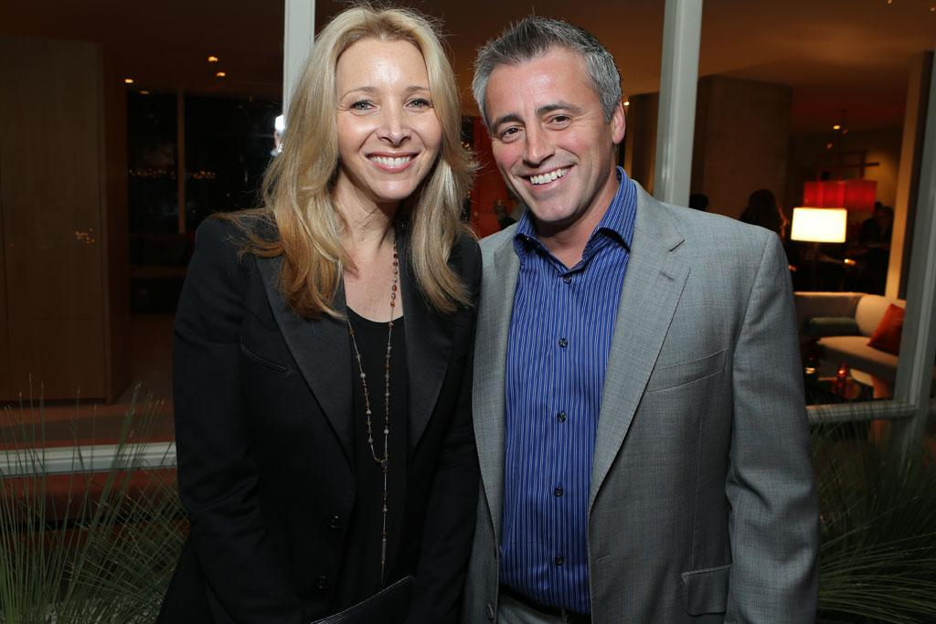 Lisa Kudrow and Matt LeBlanc at Showtime's 7th Annual Holiday Soiree on December 3, 2012 in Beverly Hills, California.