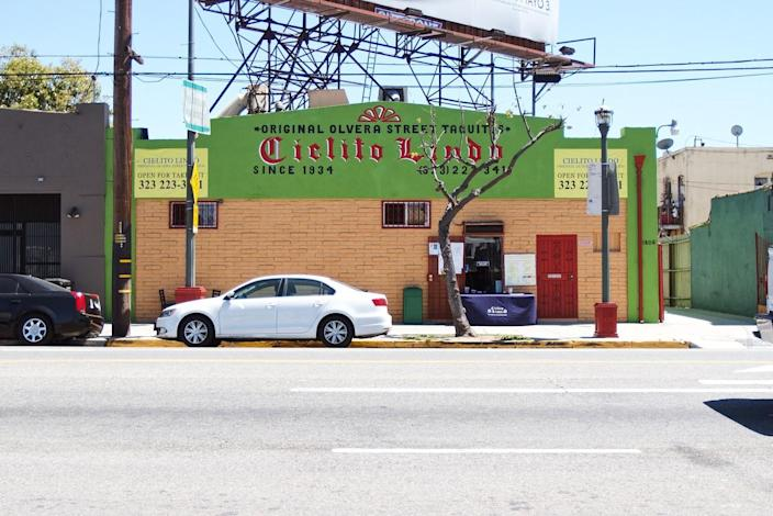 Cielito Lindo in the Lincoln Heights area of Los Angeles