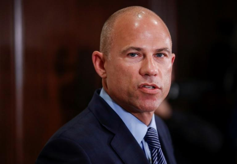 Michael Avenatti speaks about R. Kelly during a press conference in Chicago in July 2019 (AFP Photo/KAMIL KRZACZYNSKI)