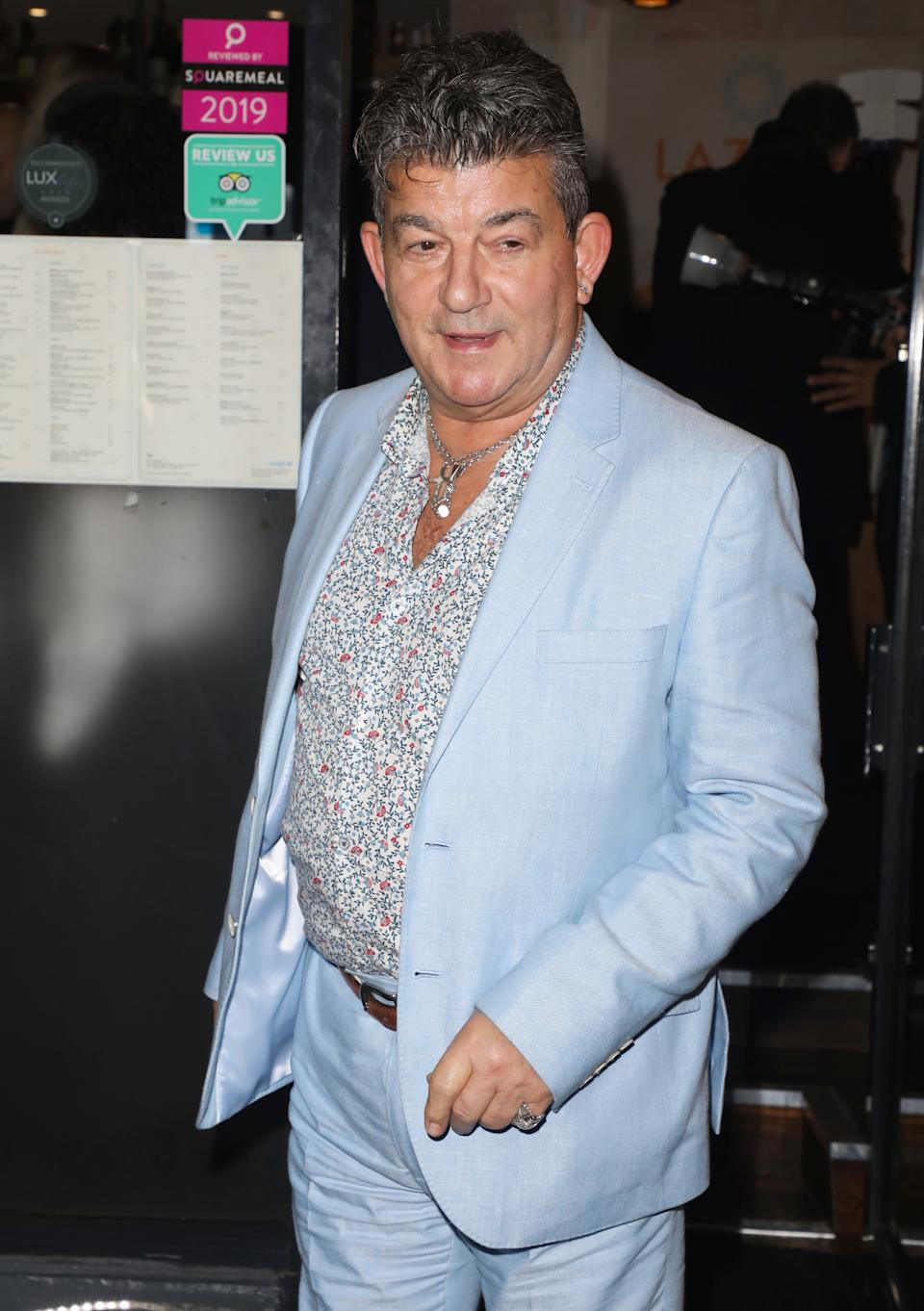 LONDON, UNITED KINGDOM - 2019/10/22: John Altman attends the launch party for the new Winter Terrace at Lazeez Tapas Mayfair restaurant in London. (Photo by Brett Cove/SOPA Images/LightRocket via Getty Images)