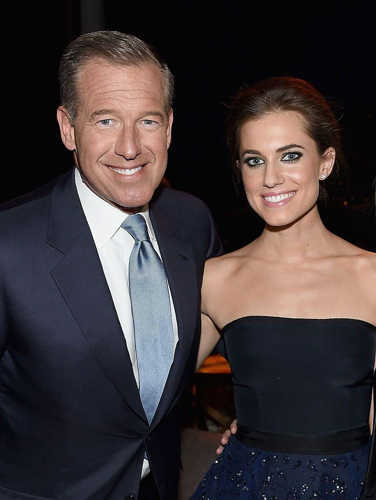 <p>News anchor Brian Williams is actually the father of <em>Girls </em>star Allison Williams. Noted.</p>