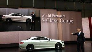 Mercedes S-Class Coupe Offering the MAGIC SKY CONTROL Panoramic Roof With SPD-SmartGlass Makes Its World Premiere at the 2014 Geneva Motor Show