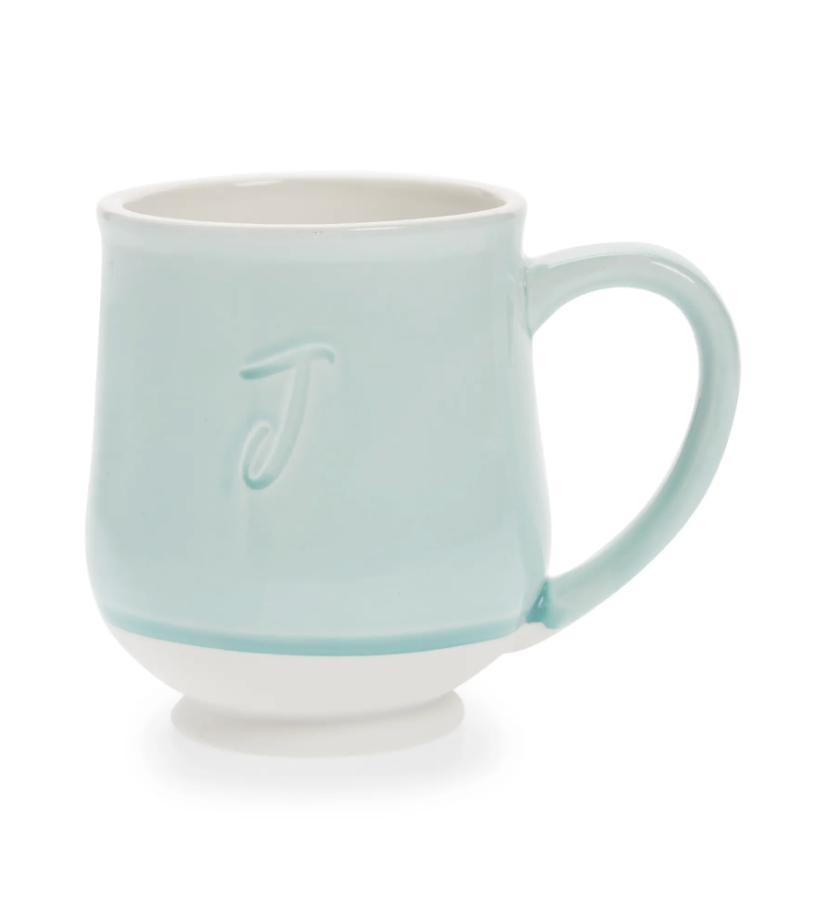 Tag Reactive Speckle Monogram Mug- Nordstrom.