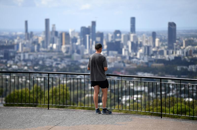A view over Brisbane. Source: AAP