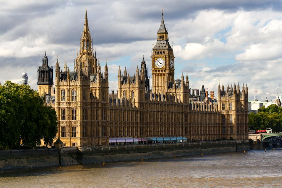 Exteriors of the Houses of Parliament in London, UK (Photo: Brian Bumby via Getty Images)
