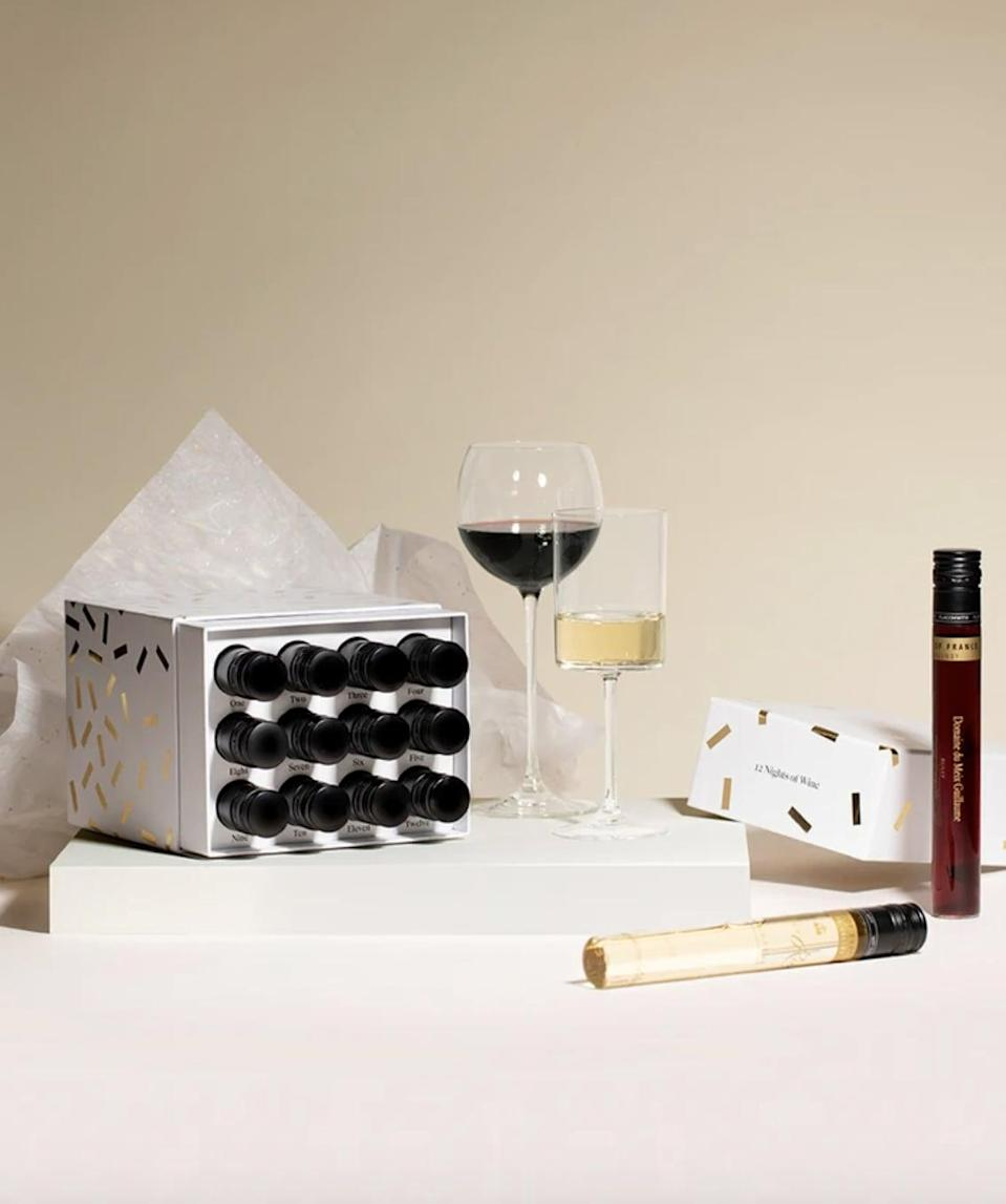 """<p><span>Vinebox 12 Nights of Wine</span> ($129)</p> <p>""""How incredibly chic is this advent calendar? Who needs chocolate every night when you can have wine? I picture myself in my finest sweat set lounging on the couch with my nightly glass."""" - SW </p>"""
