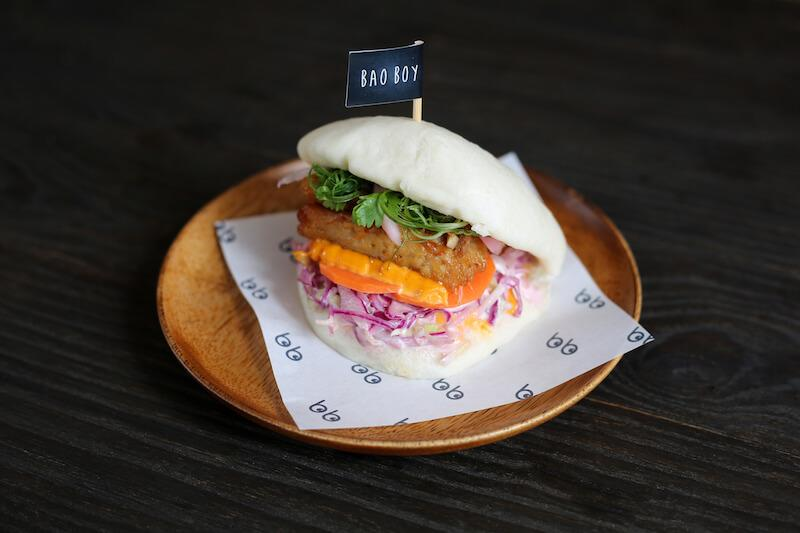 Pulled pork banh mi bao. Photo: Bao Boy