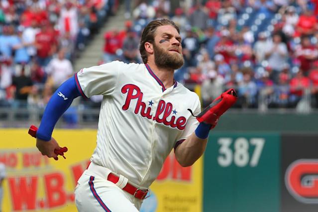 Bryce Harper Leaves Phillies' Series Finale Against Padres Because Of Dehydration