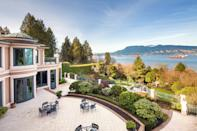 <p>It features ocean views of Spanish Banks, the Strait of Georgia, West Vancouver, Downtown Vancouver, and the North Shore Mountains.</p> <p>(Sotheby's International Realty Canada)</p>