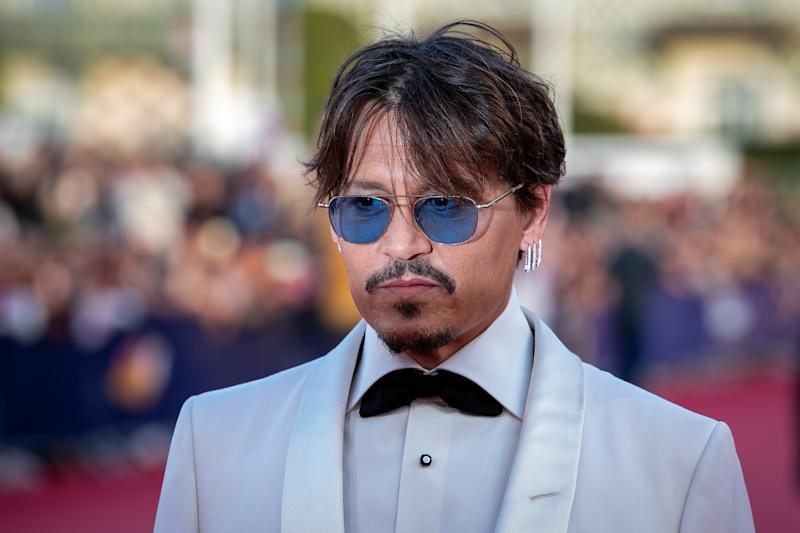 "DEAUVILLE, FRANCE - SEPTEMBER 08: Actor Johnny Depp attends the ""Waiting For The Barbarians"" Premiere during the 45th Deauville American Film Festival on September 08, 2018 in Deauville, France. (Photo by Marc Piasecki/WireImage)"