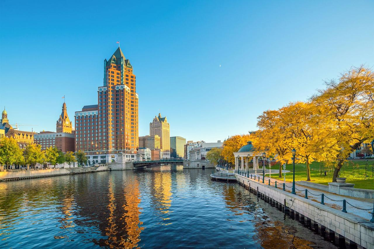 "<p>Milwaukee tops Airbnb's trending list for 2020. While it often slips under the radar, this cultural city has over 105 miles of scenic bike lanes and a charming restaurant scene. You'll never get bored, that's for sure. </p><p><a class=""body-btn-link"" href=""https://go.redirectingat.com?id=127X1599956&url=https%3A%2F%2Fwww.airbnb.co.uk%2Fa%2FMilwaukee--Wisconsin--United-States&sref=https%3A%2F%2Fwww.housebeautiful.com%2Fuk%2Flifestyle%2Fg29439129%2Fairbnb-best-holiday-destinations%2F"" target=""_blank"">BOOK NOW</a></p><p>We earn a commission for products purchased through some links in this article.</p>"