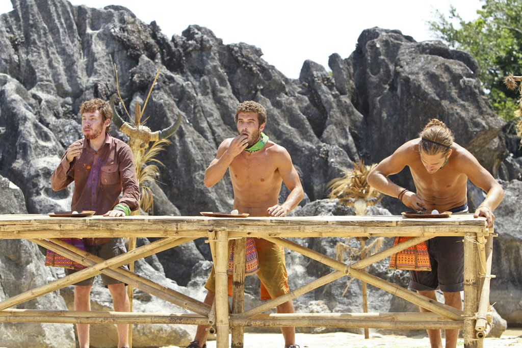 """Winning such a classic 'Survivor' challenge was a dream come true. The jury's still out on whether demonstrating that skill-set will improve my dating life, but -- if nothing else -- it provided me with one of my fondest memories from playing the game."" -- Cochran"