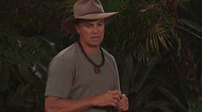 Shannon Noll has come second on the 2018 series of I'm A Celeb, just like he did on Australian Idol in 2003. Source: Ten