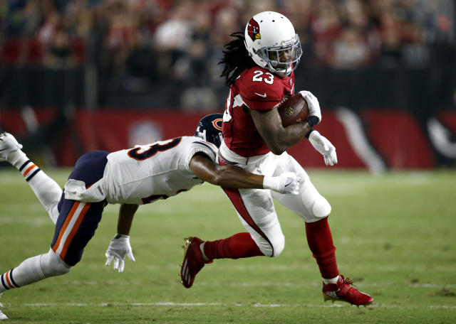 "<a class=""link rapid-noclick-resp"" href=""/ncaaf/players/263973/"" data-ylk=""slk:Chris Johnson"">Chris Johnson</a> will be looking for a new home. (AP Photo/Ross D. Franklin)"
