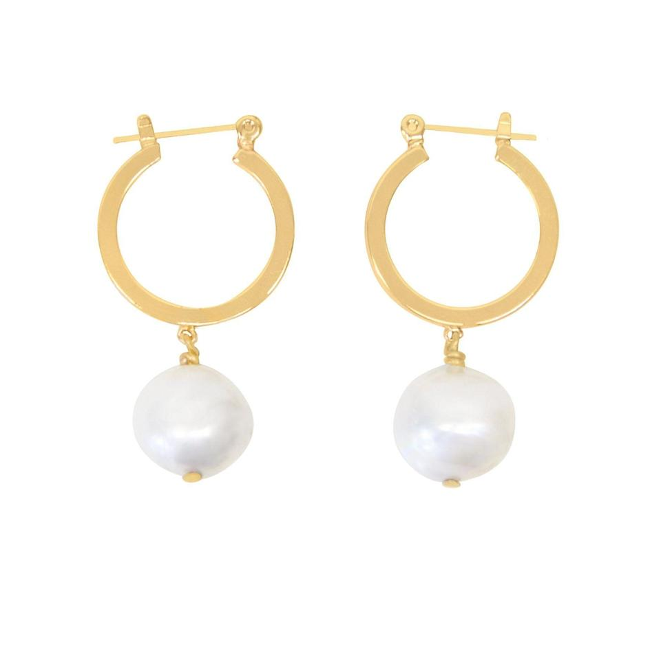 """<p><strong>Purpose</strong></p><p>purposejewelry.org</p><p><strong>$57.00</strong></p><p><a href=""""https://www.purposejewelry.org/collections/earrings/products/baroque-hoops"""" rel=""""nofollow noopener"""" target=""""_blank"""" data-ylk=""""slk:Shop Now"""" class=""""link rapid-noclick-resp"""">Shop Now</a></p>"""