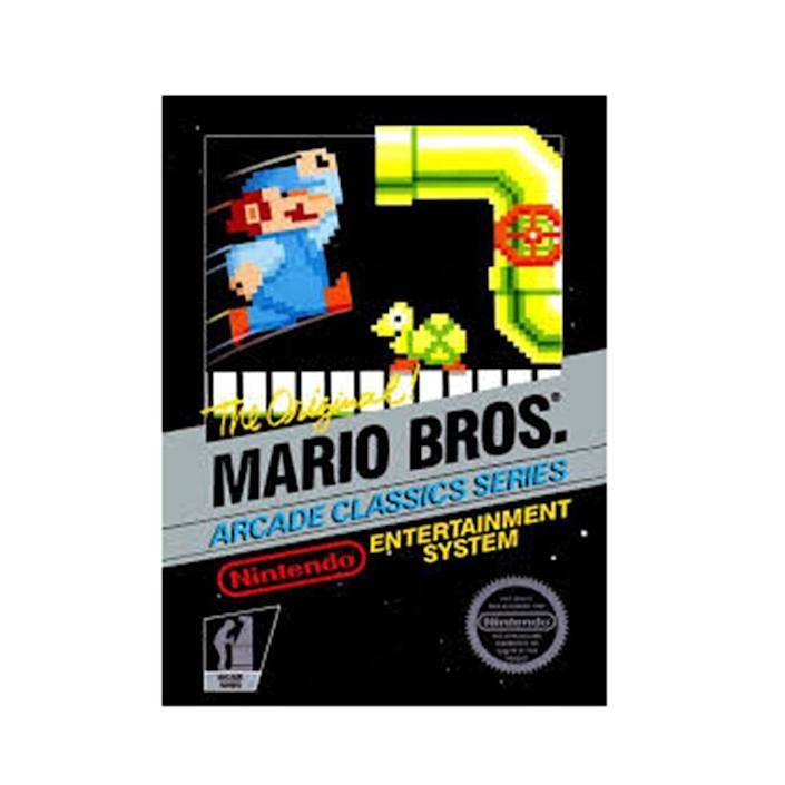 <p>Back before they became Super and before Bowser was the big bad, Mario Bros. was just a simple game where Mario and Luigi battled the Shellcreeper and Sidesteppers that flew out of the pipes. No real story or princess to be saved, but it introduced us to the now infamous character and his enemies, and brought the mustached plumber into our lives for decades to come. </p>