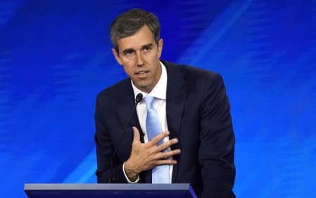 O'Rourke's 'hell yes' vow to take away rifles worries U.S. lawmakers pushing for gun limits