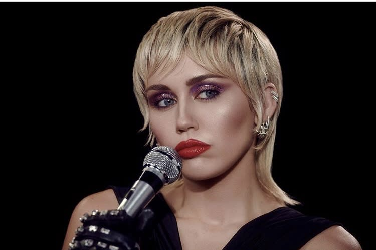 """Miley Cyrus in """"Midnight Sky."""" (Photo: YouTube)"""