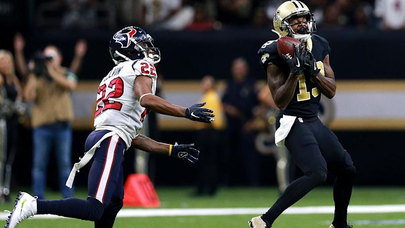 Aaron Colvin, pictured here during the Texans' loss to the Saints.