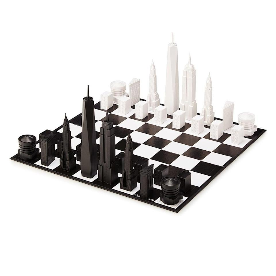 <p>The <span>NYC Skyline Chess</span> ($120) is a beautiful take on a classic game.</p>