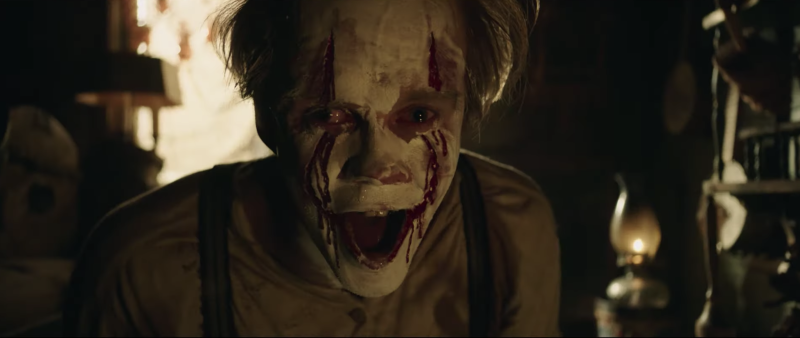 Pennywise is scarier than ever (credit: Warner Brothers)