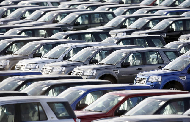 UK car manufacturing output was dented by factors including weakened consumer and business confidence. Photo: AP Photo/Paul Thomas