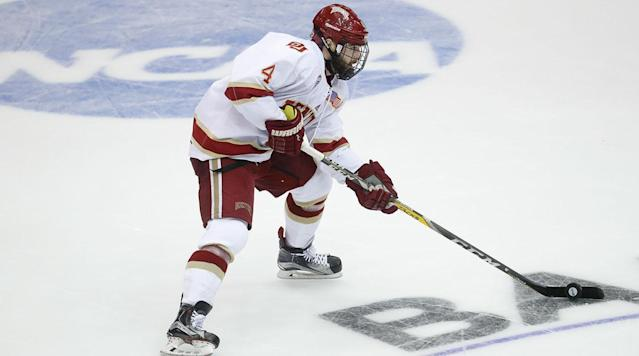 <p>The New Jersey Devils have landed college hockey's top player by agreeing to sign defenseman Will Butcher to a two-year, $1.85 million contract.</p><p>The agreement announced by the Devils on Sunday comes about two weeks after the University of Denver player became a free agent by turning down an opportunity to sign with the Colorado Avalanche before a deadline passed on Aug. 15. The Avalanche selected Butcher in the fifth round of the 2013 draft.</p><p>Butcher received the maximum entry-level salary allowed under NHL rules. A person with direct knowledge of the contract details told The Associated Press that Baker can also make an additional $850,000 in annual bonuses, which is also the maximum for rookie deals.</p><p>The person spoke the AP on the condition of anonymity because the Devils did not reveal that.</p><p>In choosing the Devils, the Hobey Baker winner joins a team rebuilding through youth after selecting Nico Hischier with the No. 1 pick in the draft.</p><p>The 22-year-old from Sun Prairie, Wisconsin, capped his senior season by leading Denver to the national championship in April. He had seven goals and a team-high 30 assists in 43 games in becoming just the seventh defenseman to win college hockey's top honor.</p><p>---</p><p>This story has been corrected to note that Butcher can make up to $850,000 in annual bonuses.</p><p>---</p><p>For more AP NHL coverage: https://apnews.com/tag/NHLhockey</p>